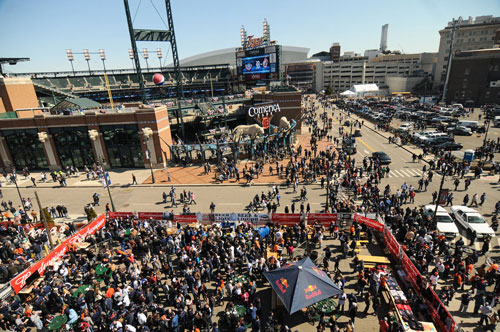 Detroit Tigers Tailgate Parking
